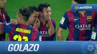 Golazo de Messi (6-0) en el FC Barcelona - Getafe CF