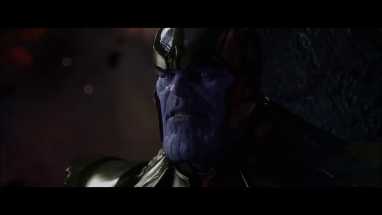 All Thanos's Scenes in the Marvel Movies - YouTube