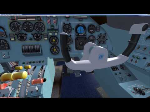 FSX | AN 28 | Ан 28 | Cold and Dark | EGPF - EGPR | Full flight