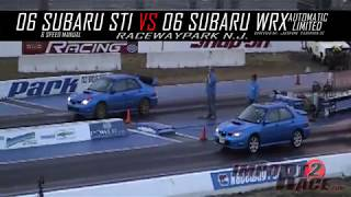2006 Subaru Sti vs 2006 Subaru Wrx Limited Automatic