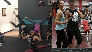 Ep1: VLOGIDAYS Shoulders, bi's, Delts & I can still do the splits!