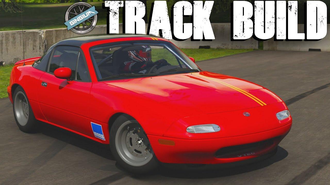 PHIL VS MUSTANG 1994 Mazda MX5 TRACK BUILD Forza 6