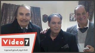 بالفيديو..الفيشاوى والعلايلى فى افتتاح أكاديمية هانى مهنا للفنون والموسيقى