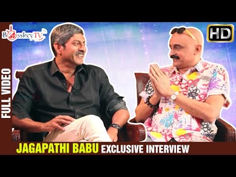 I was a rowdy | Jagapathi Babu Exclusive Interview | Heartist Full Video | Bosskey TV