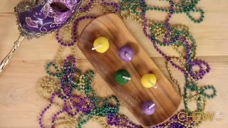 The Chew - King Cake Pops Recipe