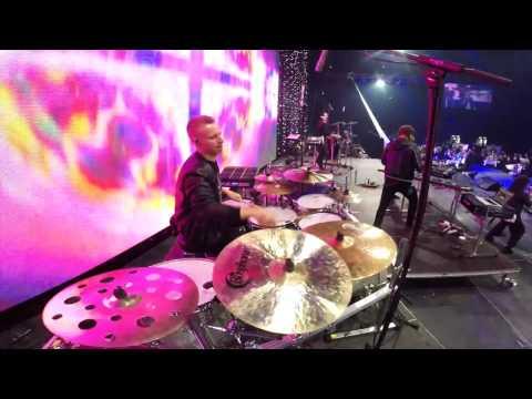 Drum cam - Hartwall Arena - TAKOMO feat. Sofia Zida