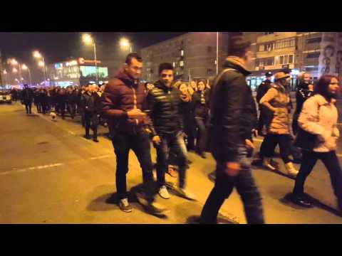 Circa 1000 de oradeni au iesit in strada