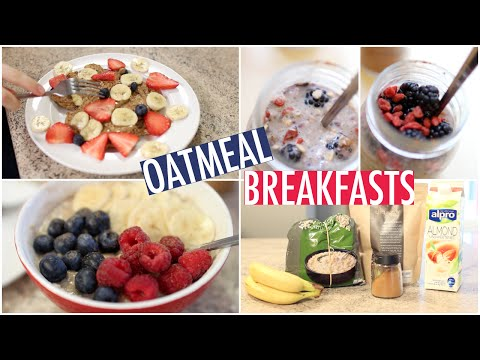 Quick & Healthy Oatmeal Breakfast Ideas!