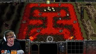 PRZEGRAŁEM PRZEZ PSA! - Warcraft III: (Uther's Party)
