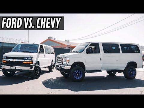 Chevy Express Van Conversion Vs Ford Econoline Van Conversion