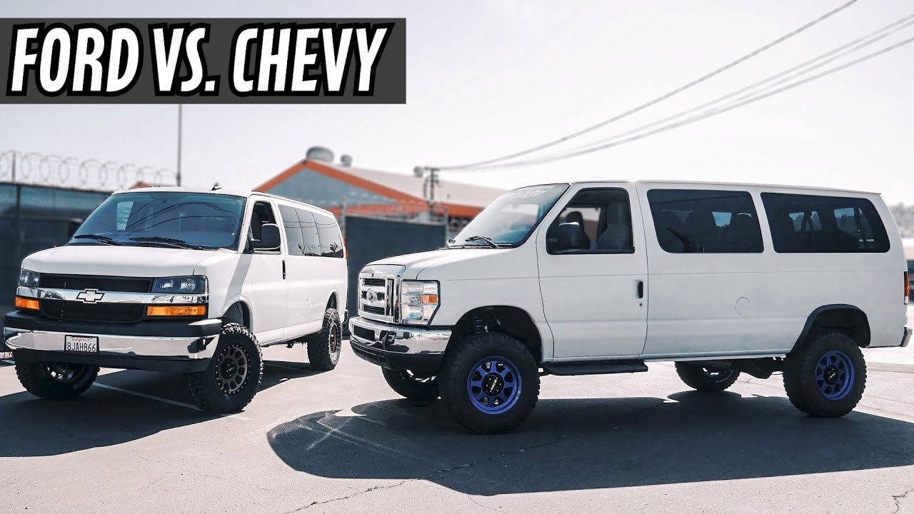 chevy express van conversion vs ford econoline van conversion youtube chevy express van conversion vs ford econoline van conversion