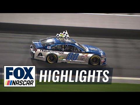 Dale Earnhardt Jr. Wins Can-Am Duel 1 - 2016 NASCAR Sprint Cup