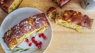 Творожная Шарлотка С Яблоками. / Cottage cheese charlotte Recipe