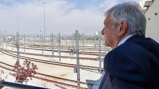 Supervisa presidente obra del Tren Ligero en Guadalajara
