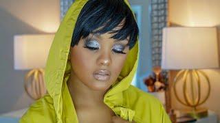 HOW TO GLITTER SMOKEY EYES #DesiKATY #MakeupShayla #Nyx #NessOnTheBeat