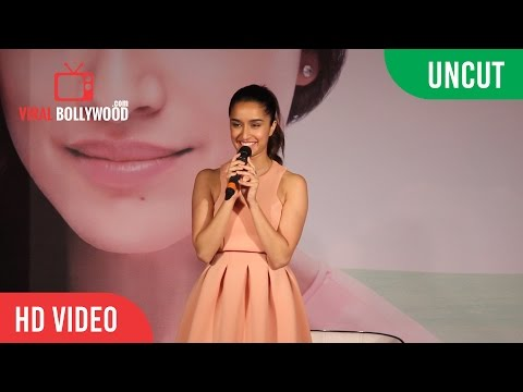 UNCUT - Shraddha Kapoor | launch of Lakme 9 to 5 Weightless Mousse Foundation