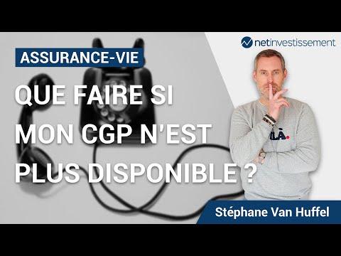Assurance vie : que faire si mon CGP n'est plus disponible [Vidéo BFM]