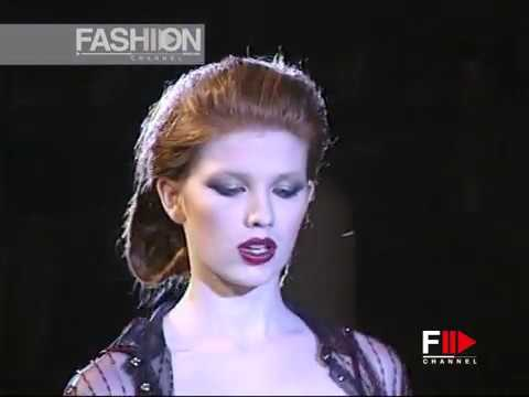 ROCCO BAROCCO Fall 2000/2001 Rome Haute Couture - Fashion Channel