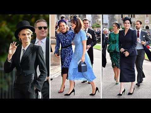 Fashion verdict: Guests' outfits at Princess Eugenie's wedding