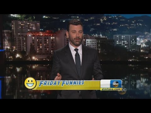 Late-Night Comics Joke About Latest News Headlines | ABC News
