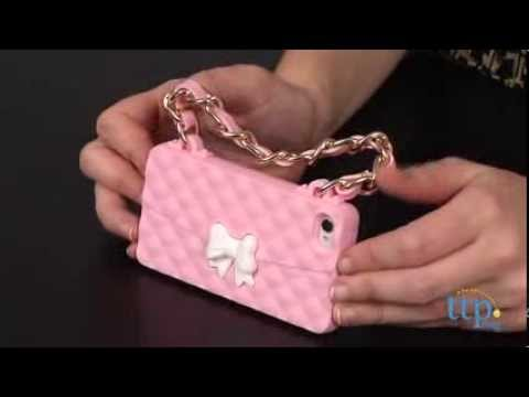 Urban Animal Paris Pink Sassy Cell Case from The Wish Factory