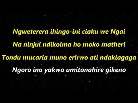 Sammy Irungu Niwe Ngoro Yetereire Lyrics
