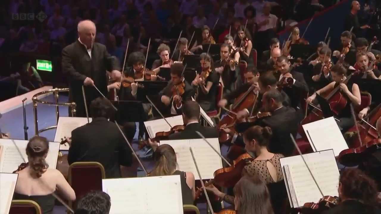 Beethoven - Symphony No.9 - West East Divan Orchestra ...