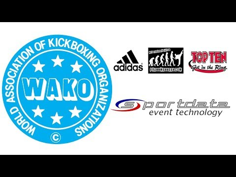 WAKO World Championships 2017 Award Ceremony