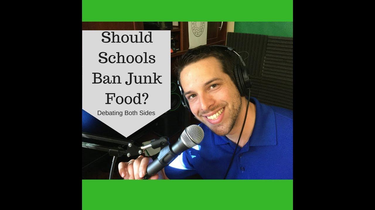 junk food banned in schools debate