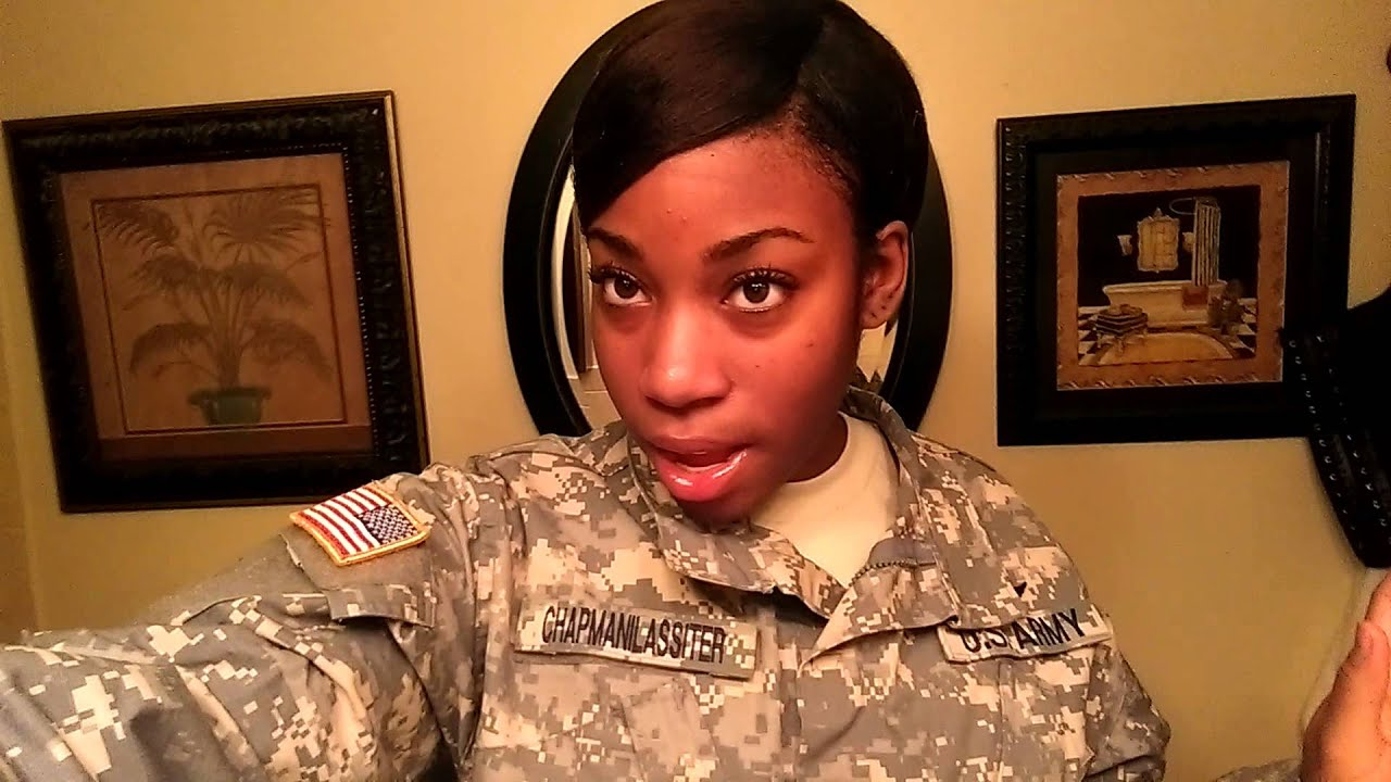 military hairstyle options for afro amer females