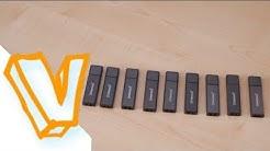 Warum man KEINE BILLIG USB-Sticks kaufen sollte!/Testbericht/Review (deutsch)