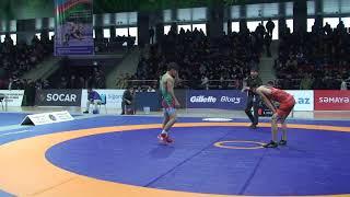 1/8 final FS - 51 kg: Süleyman Yusifov (AZE) - Sübhan Səfərli (AZE)
