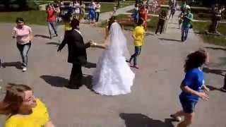 Свадебный флэш моб в Томске