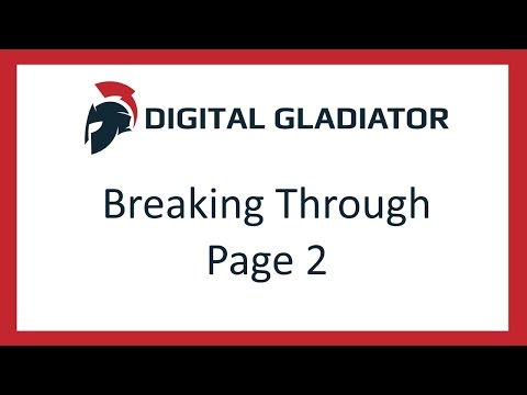 How to Break Through The Top Of Page 2
