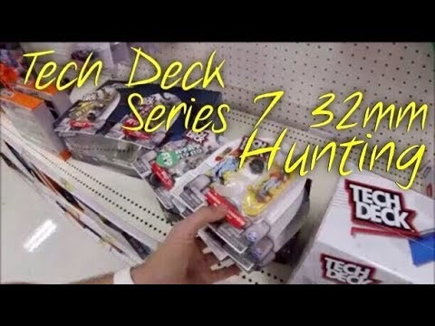 Tech Deck Series 7 32mm Hunting At Target