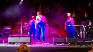 Piknik - Krastave Žabe Live at EXIT Festival 12.07.2013.