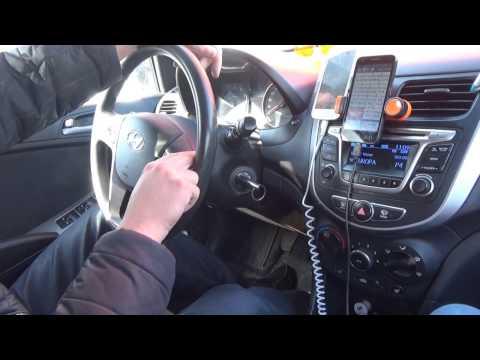 Тест Драйв Hyundai Solaris 1.4л 107л.с. 16кл. мотор рестайлинг