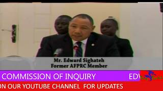 EDWARD S NGHATEH AT THE COMM SS ON