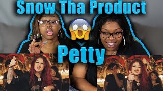 Mom and sister reacts to Snow Tha Product - Petty (Official Music Video)