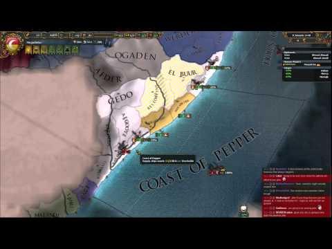 Europa Universalis 4 Art of War: Shekel Master Mogadishu 001