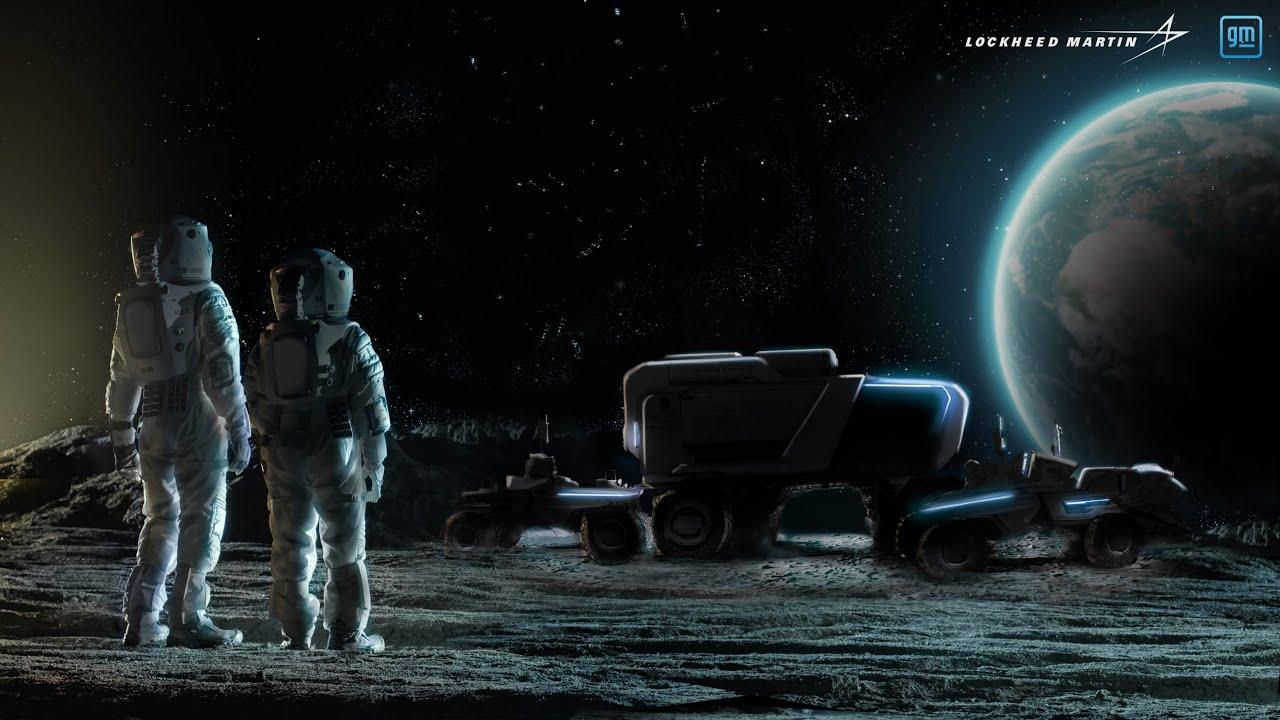 Lockheed Martin,General Motors团队与自动月球流动仪设计一起进一步的月球探索
