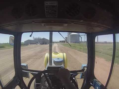ford 9600 hauling soybeans