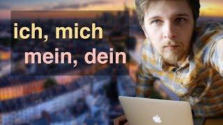 Личные и притяжательные местоимения в немецком | Базовый немецкий A0-A1