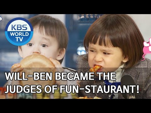 Will-Ben Became The Judges Of Fun-Staurant! [The Return Of Superman/2020.04.05]
