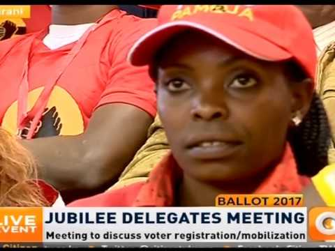 DP Ruto address to Jubilee Party Delegates at Kasarani