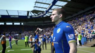 FIFA 15 – Leicester City New Player Faces