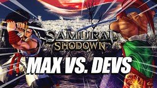 MAX VS. DEVS: 19 Mins Of Samurai Shodown - Raw Gameplay