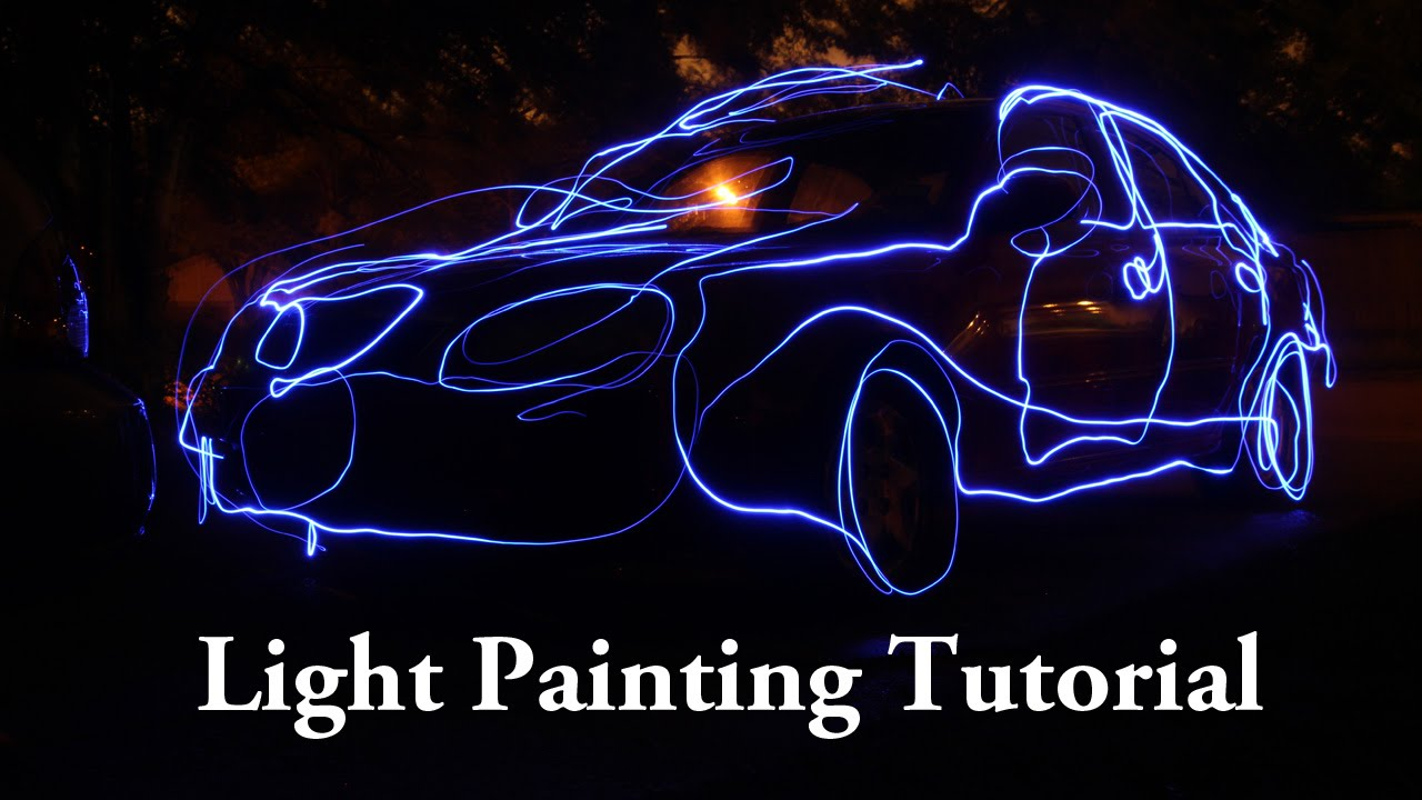 Light Painting Tutorial Using Flashlights and Speedlights