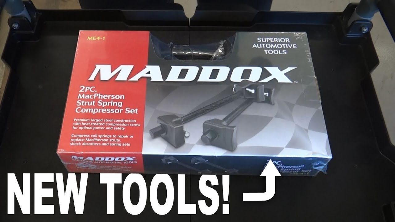 Harbor Freight Special Maddox Macpherson Strut Sping Compressor Set