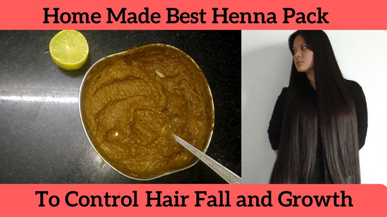 Home Made Best Henna Pack To Control Hair Fall And Growth Silky